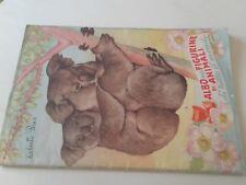 ALBUM PER FIGURINE di ANIMALI di tutto.._1951_coll LAMPO_non completo_stickers