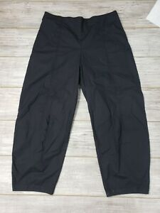 $339 NWT OSKA Womens Hose Draba 921 Black Pants Pockets Side Zip Size 5 Cotton