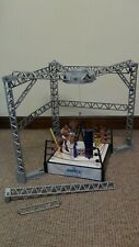 WWE Wrestling Ring Money in the Bank playset 4 figurines et accessoires