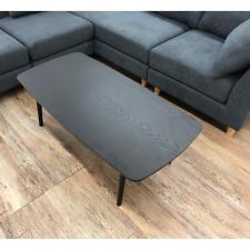 Folding Table Black Wooden Coffee Center Foldable Storage SGS-229BK AZUMAYA NEW