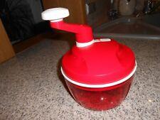 Tupperware Quick Chef rot mit Deckel, neuwertig,