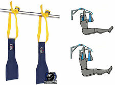 NEW JM ABS Universal Abdominal Slings (Pair) Ab Slings Straps Chin Up Bar Gym