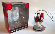 Coca Cola/NASCAR Polar Bear Pit Crew - Fuel Bear With Box