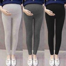 Pregnant Women Legging Pants Solid Thin Maternity Pregnancy Trouser Cotton blend