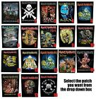 Iron Maiden Life and Death Trooper Choice of Official Giant Sew On Back Patch