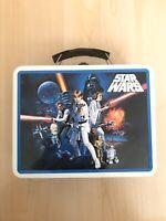 Star Wars Tin Box Tin Lunchbox Darth Vader Princess Leia Death Star 2008