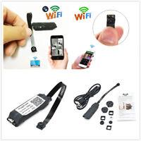 Wireless Mini Spy Nanny Cam WIFI IP Pinhole Hidden DVR DIY Digital Video Camera