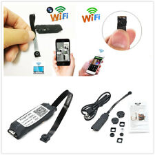 Wireless Mini Spy Nanny Cam WIFI IP Pinhole Hidden DVR DIY Digital Video Camera