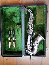 CG CONN -  Soprano Sax  -Curved  4M New Wonder I -Very Good VINTAGE Condition!