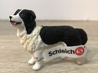 Schleich Farm World Dog Border Collie #16840 New With Tag Realistic Educational