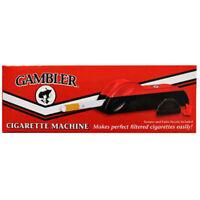 Machine Gambler Regular King Size Cigarette Making Rolling Tobacco Tube Injector