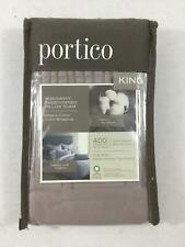 Portico King Sham Sphinx Rose Windswept NWT Embroidery Organic 100% Cotton New