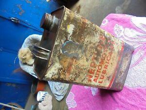 OLD NEPTUNE 1 GALLON OIL TIN