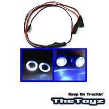 1/10 1/16 1/18 RC Car Angel Halo Eyes LED Lights TOYZ 701 Blue.