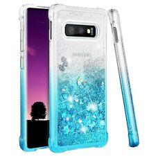 Samsung Galaxy S10e Case, Galaxy S10e Glitter Case, Gradient Quicksand Seri