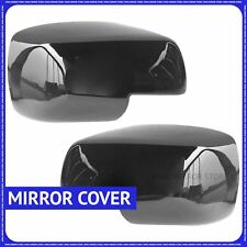 For Land Rover Freelander 2 06-09 Black Full Glossy Wing Door Mirror Covers