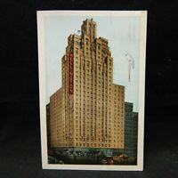 POSTCARD HOTEL WELLINGTON, NEW YORK, POSTMARKED 1951