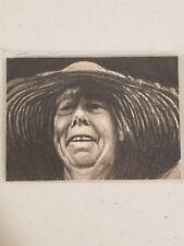 Original Richard Salvucci Sketch ACEO - Frances La Tour - Martha - Book of Eli