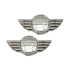 For Nissan March Navara Juke  2011 13 15 Side Lamp Cover Mini Style Trim Chrome