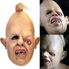 Unisex Sloth Latex Mask Of Goonies Halloween Cosplay Fancy Dress Costume 1980's