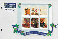 GUERNSEY 1997 CHRISTMAS SET OF 6 + M/S Presentation Pack + 2 x FDC