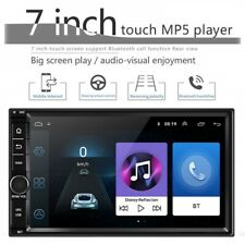 "Quad Core Android 8.1 WIFI 4G 7"" Double 2DIN Car Radio Stereo MP5 GPS Navigation"