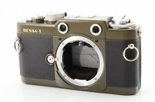 Near Mint Voigtlander BESSA T 101Years Model Olive Rangefinder Film Camera #379