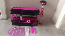 Lote: Monster High muerto de cansancio Draculaura con ataúd caja de joyería