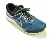 Saucony Omni ISO 2 Wide Marine Silver Blue Running Shoe Men's Size 11.5 S20512-1