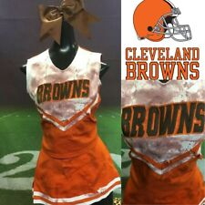 Cleveland Browns Real Cheerleading Zombie Uniform Adult S