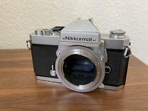 Nikon Nikkormat FT2 / 35mm Analog Kamera / Getestet + neue Lichtdichtungen