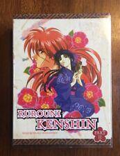 Rurouni Kenshin Meiji Kenkaru Romantan Part II 6 DVD Box Set Japan Anime Cartoon