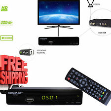 Digital TV Converter Box RCA HDMI HD Recording PVR Antenna Analog Remote Control