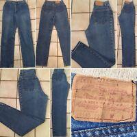 "Vintage Levi's 505 Jeans High Waist Made In USA Sz 13 27 1/2"" Waist"