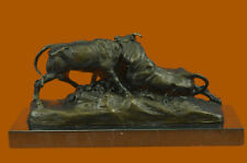 A BRONZE GROUP OF BULL FIGHTING  Jean-Baptiste Clésinger French 1814–1883 Deco