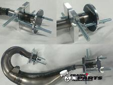2-stroke Tuyau d'échappement Kit De Réparation #2 YAMAHA YZ 125 250 490 Dent avec soupape de sécurité