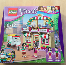 LEGO FRIENDS THEME FILLE 41311 LE RESTAURANT PIZZERIA AVEC EMMA ET OLIVER