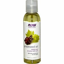Grapeseed Oil 100% Pure Sensitive Skin Care 4oz by Now Solutions Free Shipping