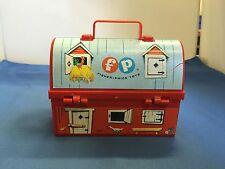 Fisher-Price Toys 1962 Vintage Original Toy Lunch Box #549 East Aurora, N.Y.