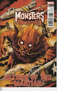 Monsters Unleashed #3 FRANCAVILLA 50S MOVIE POSTER New/Unread 2016