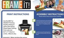 Frame-It 10-Piece Photo-to-Canvas Do It Yourself PhotoFramingKit