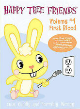 Happy Tree Friends Volume 1 First Blood DVD 2003 (VERY GOOD) [Flippy]