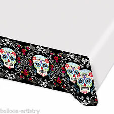 1.4 MX2.6 M HALLOWEEN Muertos giorno dei morti FESTA PARTY Plastica Tavola COVER