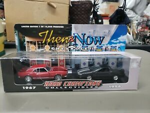 1999 Road Champions 1967 & 1998 CHEVROLET CAMARO Then & Now Set 1/43 Scale new