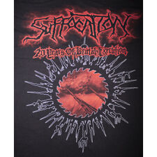 SUFFOCATION - 20 Years of Brutal Execution T-Shirt (XL) 2 Color Print / METAL