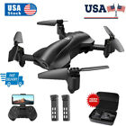 Holy Stone HS165 GPS Drones 2K HD Camera Foldable RC Quadcopter 2 Battery+Case