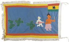 African Art Asafo Frankaa War Flag Fante Fanti Ghana Applique Gold Coast
