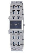 Chronotech Women's CC.7120LS/03M Blue Dial Stainless Steel Blue Crystals Watch