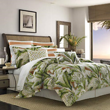 Chezmoi Collection 7-piece Luxury Leaves Scroll Embroidery Bedding Comforter Set