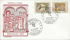 FDC 12/10/71 Italy, Natale
